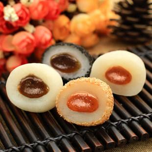 【怡鹭】黑白芝麻糯米糍粑小丸子干吃多口味
