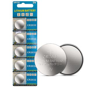 驰界纽扣电池CR2032 3V锂电池手表电池主板奔驰大众汽车钥匙小电子5粒通用小米卡西欧dw圆形电池体重秤电池