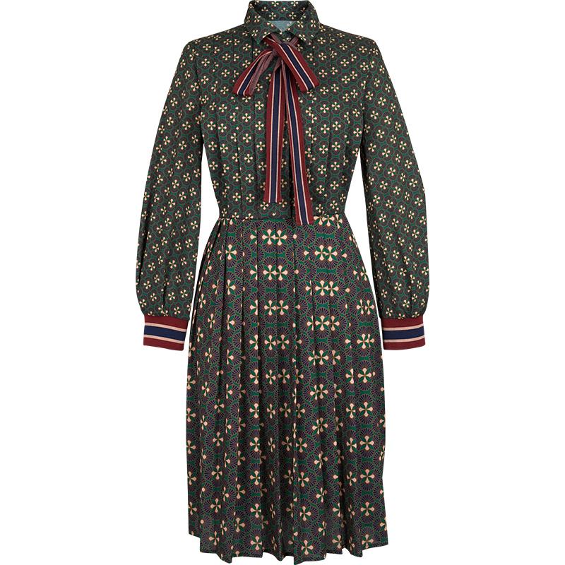 双11预售 d'zzit 地素 3F4O615 女士连衣裙