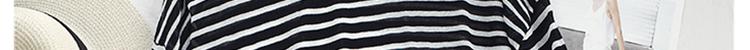 韩版夏季宽鬆慵懒风百搭条纹防晒上衣女喇叭袖薄款冰丝针织衫详细照片