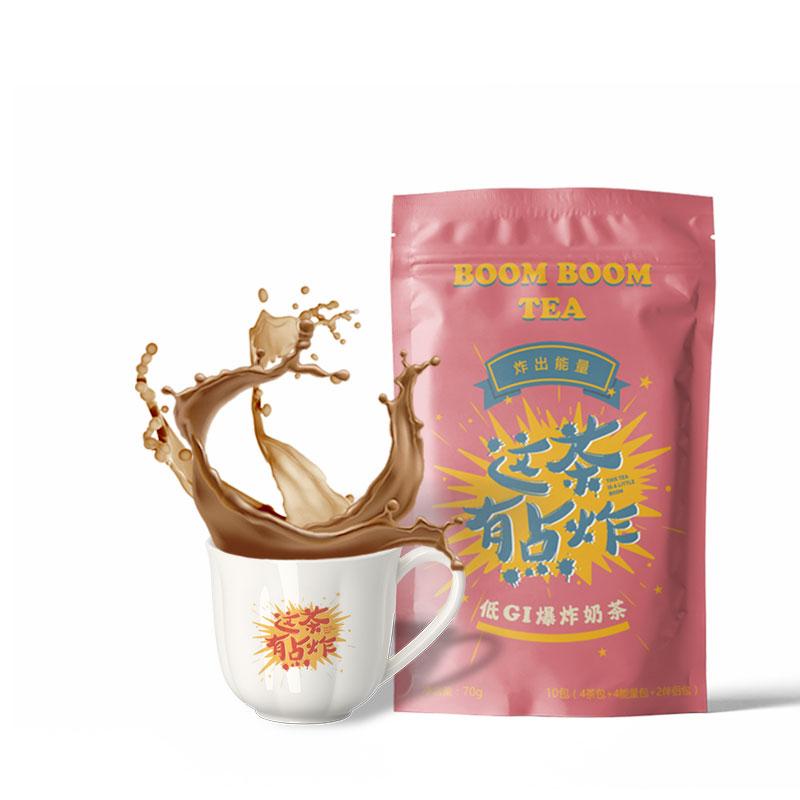 谷康穗低GI爆炸奶茶红枣味 DIY手工奶茶 饱腹代餐奶昔粉限100000张券