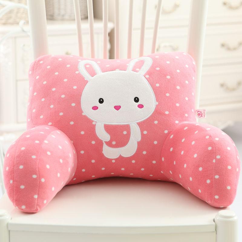 Цвет: Подушка розовый милый кролик