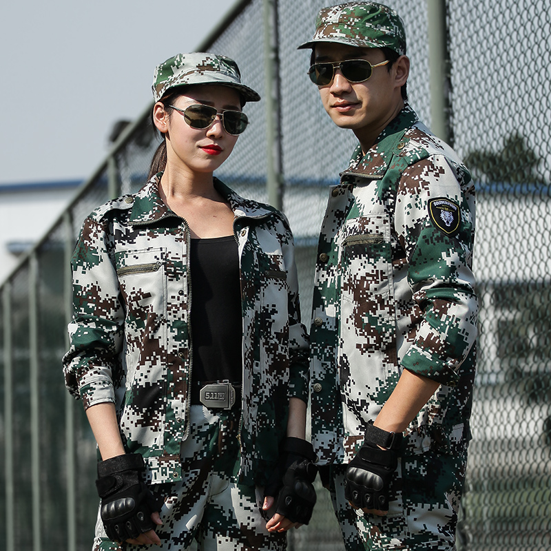 Genuine jungle camouflage suit men Special Forces men's uniform work military training wear for Training Summer women's clothes