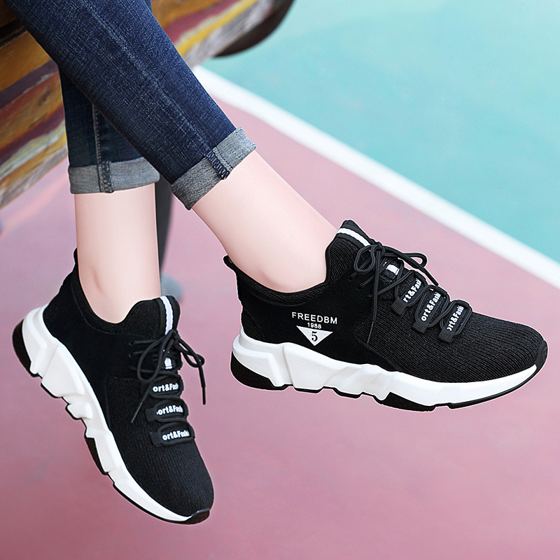 Sports shoes Women breathable running