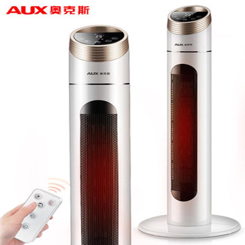 奥克斯取暖器家用节能省电暖气浴室小型办公室速热立式热风暖风机