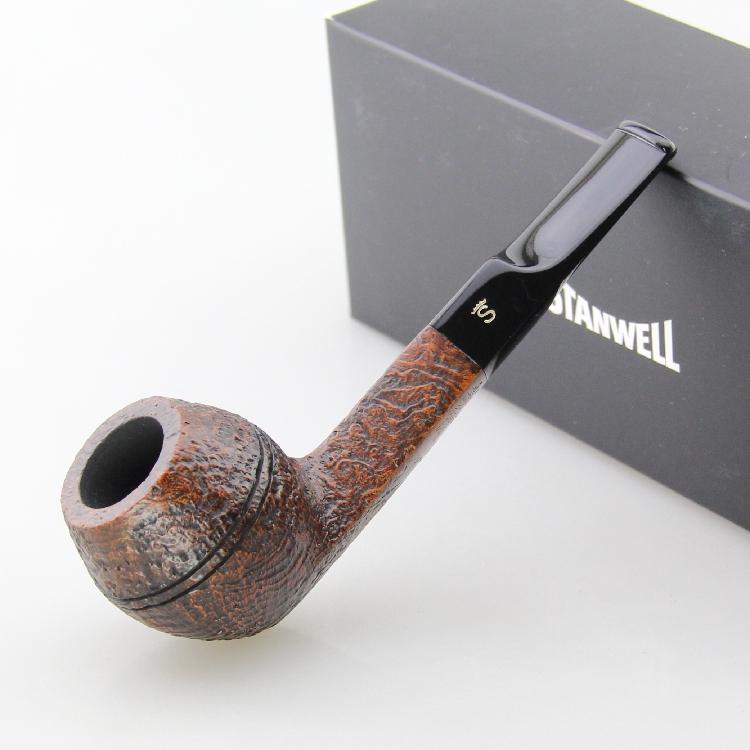 丹麦stanwell史丹威石楠木烟斗Golden Danish 32棕色喷砂3mm