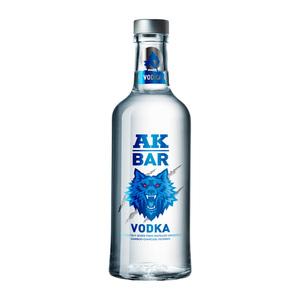 AKBAR洋酒 伏特加酒 vodka原味烈酒夜店鸡尾酒调酒基酒700ml 40度