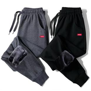 男士运动裤春秋季休闲裤直筒裤男裤子