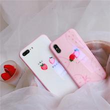 苹果全系列  粉色可爱少女款手机壳