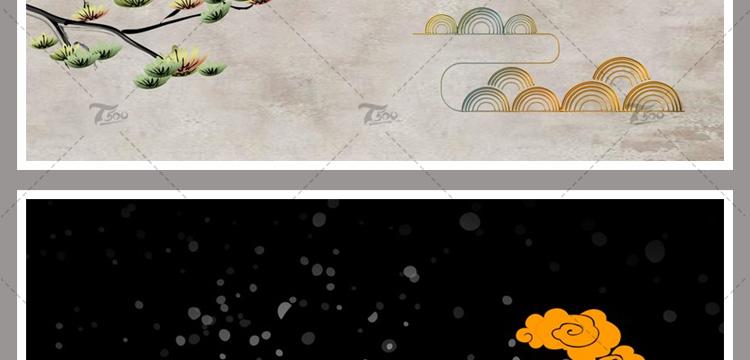 PSD古典设计新中式中国风设计素材大全插图10
