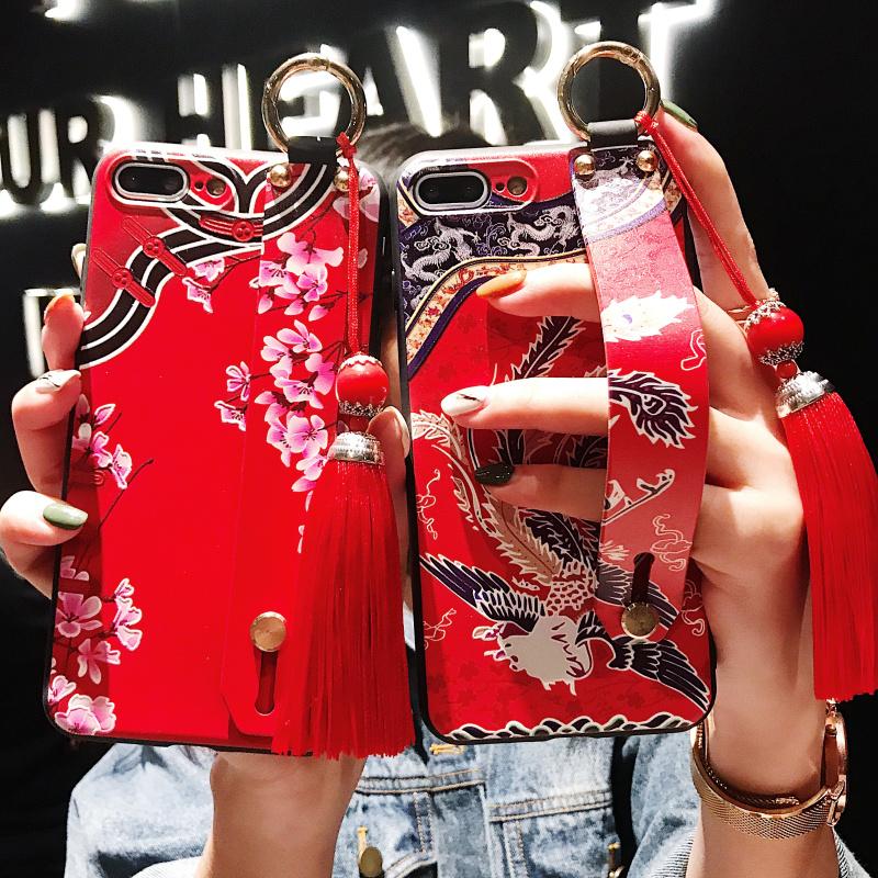 红米小米猪年腕带旗袍全包手机壳-给呗网
