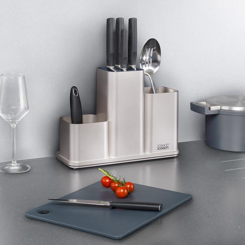 Joseph Joseph Counterstore系列  厨具收纳架套装 含防滑菜板 $24.99 海淘转运到手¥242