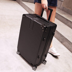 Trolley case 24 inch suitcase 28 inch password luggage bag universal wheel tide men and women net red ins luggage 20 inch