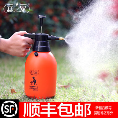 Pouring flower home watering can pneumatic water spray pot small sprinkle cleaning glass pressure sprayer gardening tool