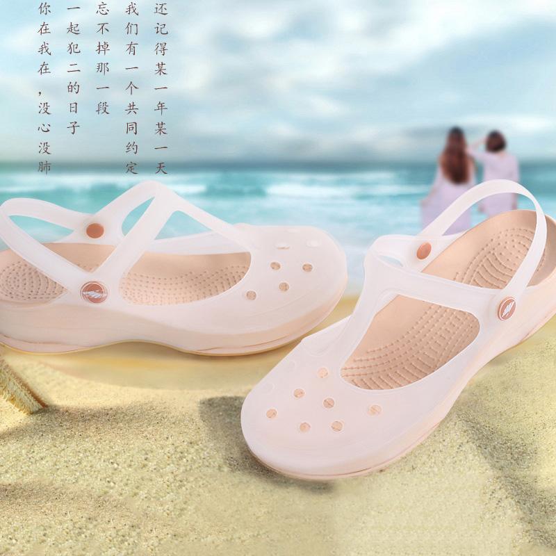 Dép veblen chính hãng- giày lỗ thoáng khí- giày nữ bãi biển đế mềm- dép nữ chống trượt mùa hè