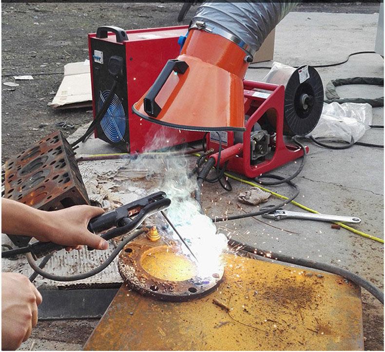 传梦单双臂焊烟净化器移动式工业焊接环评设备排烟系统焊烟净化机14