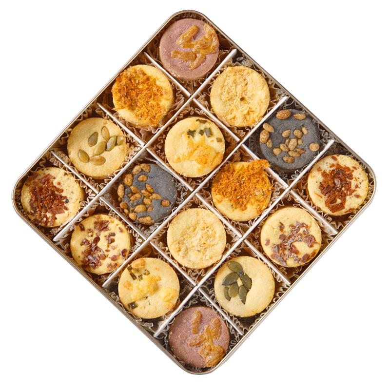 心的海盐曲奇饼干 ,伴手礼和家人一起分享
