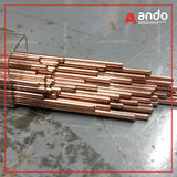 Hot USA / Taiwan C15760 alumina copper rod resistance welding electrode copper rod point welding pin dispersion copper rod
