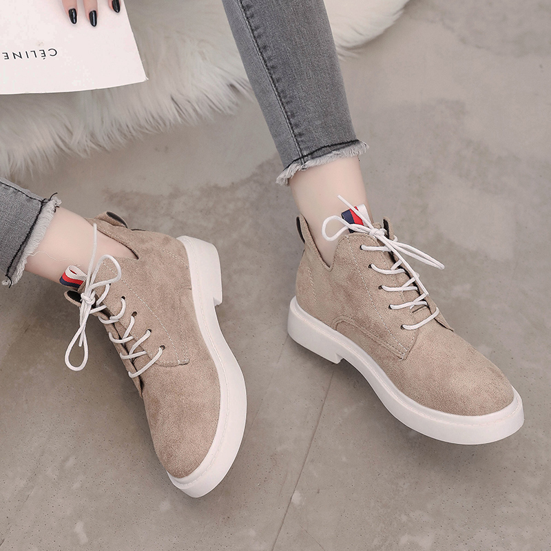 New single casual high-top round ankle boots 61