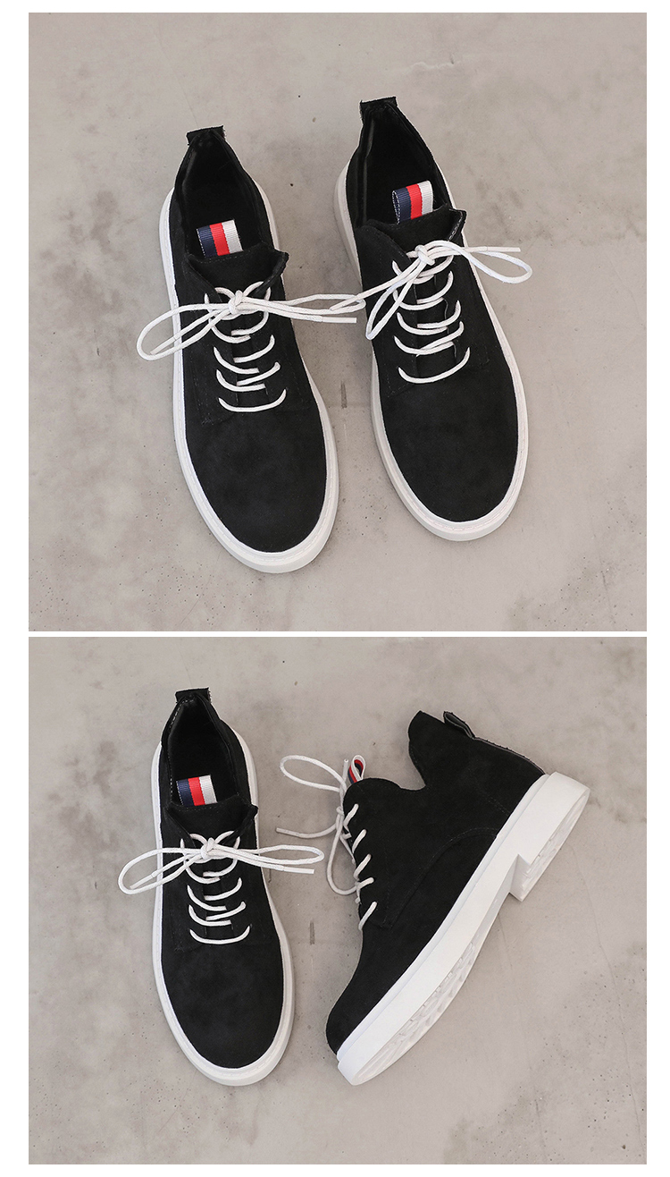 New single casual high-top round ankle boots 83