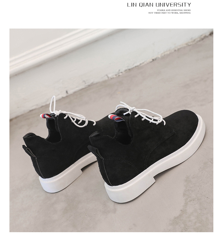 New single casual high-top round ankle boots 82