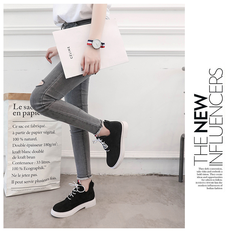 New single casual high-top round ankle boots 72