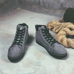 男鞋冬季加绒保暖鞋子韩版潮流板鞋休闲跑步鞋英伦百搭棉鞋运动鞋