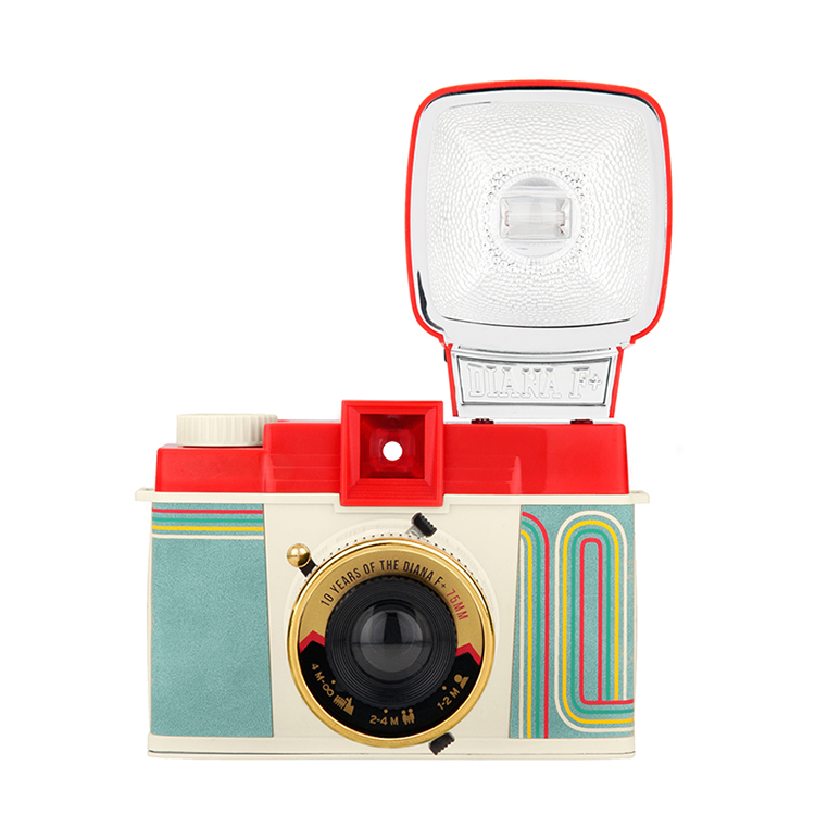 公路商店 黑市lomo Diana 戴安娜 F+ 胶片相机连闪光灯 经典版