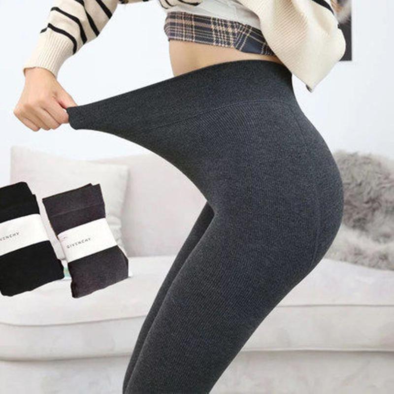 冬季外穿连裤打底裤2条