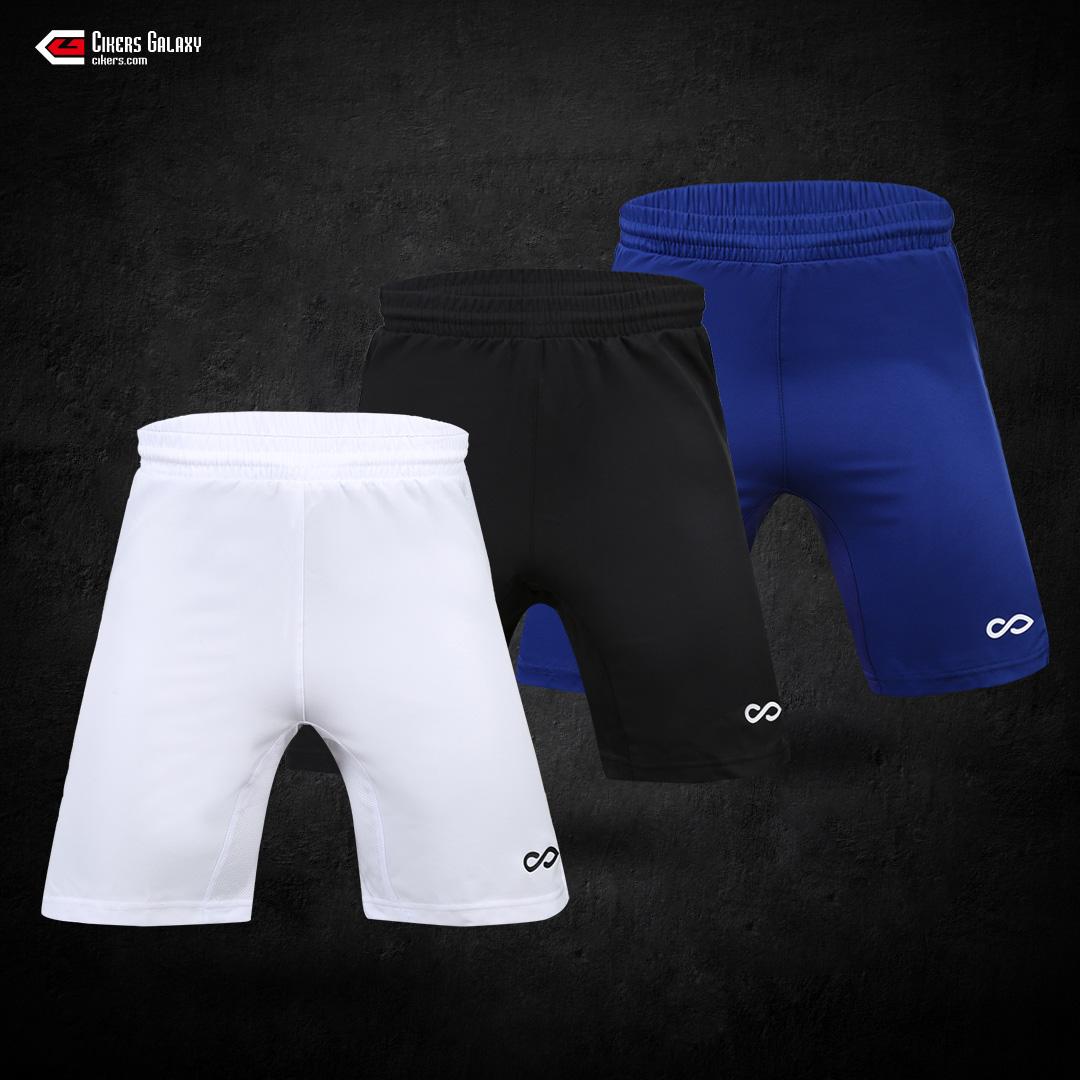 CG saike CIKERS nam dệt quần short bóng đá thể thao quần short đào tạo quần thoáng khí mồ hôi nhanh chóng khô - Bóng đá
