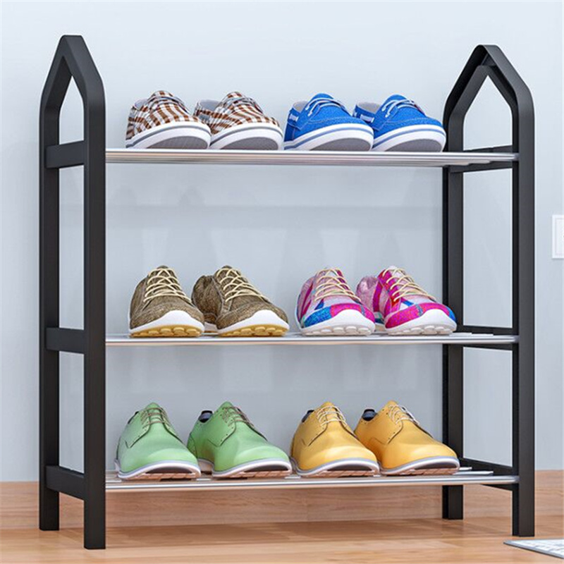 亚思特鞋架简易鞋架子家用门口经济型鞋柜多层收纳架子防尘省空间