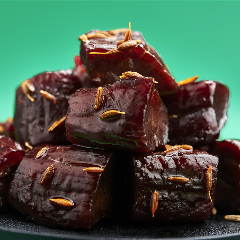 风干牛肉粒内蒙古特产真空散装好吃的办公零食小吃龙舌飞牛肉粒
