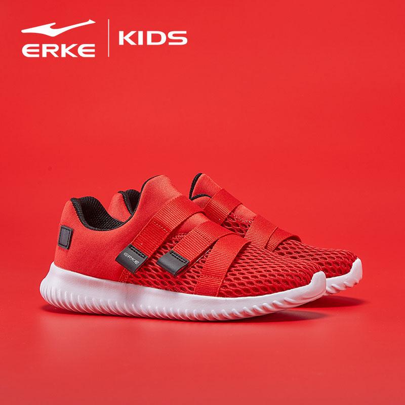 Hongxing Erke 2019 mùa xuân đích thực giày trẻ em bé trai giày trượt patin giữa và bé trai lớn mang giày chống trượt thông thường - Giày dép trẻ em / Giầy trẻ