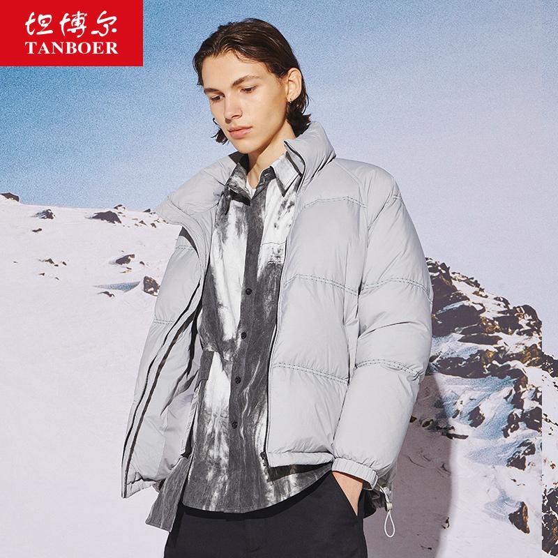 Ровный и широкий богатые ваш 2020 метров модный и стильный куртка краткое должен стоять воротник простой теплый пальто TF202319