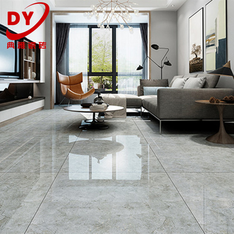 Modern Garage Floor Tiles Design With Grey Color Interior: [USD 10.66] Floor Tile 800x800 Living Room Full Cast Glaze