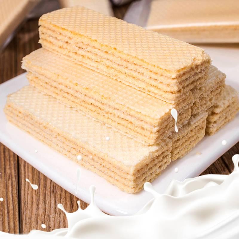网红日式豆乳威化饼干夹心饼干日本零食品散装整箱400g,免费领取10.00元淘宝优惠卷
