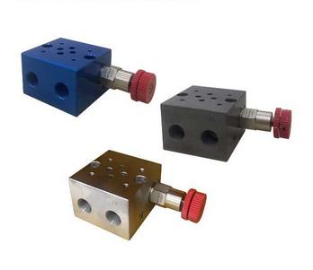 Hydraulic valve block cartridge valve block 02 valve block with