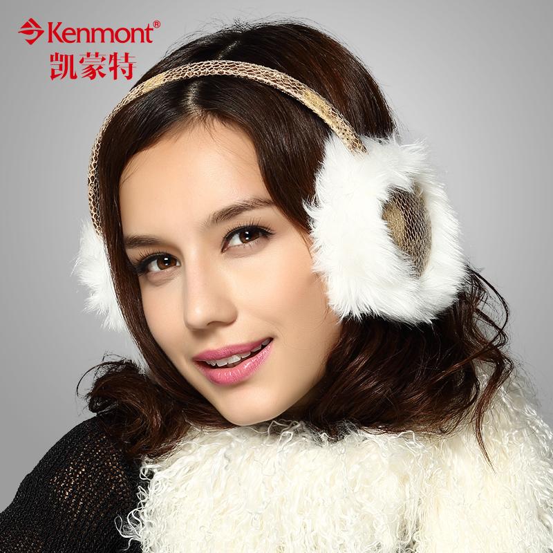 Меховые наушники Kenmont 6969