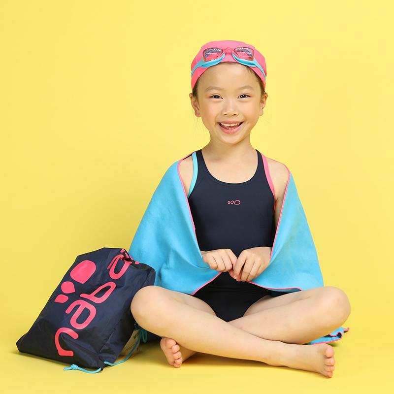 57dbeb8e08 ... Decathlon swimming spa boys girls swim trunks suit swimwear suit  goggles swimming cap bath towel swimming