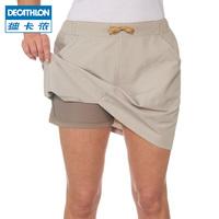 Следовать карта леннон движение шорты женщина на открытом воздухе воздухопроницаемый пригодный для носки быстросохнущие восхождение только шаг юбка-брюки QUNH