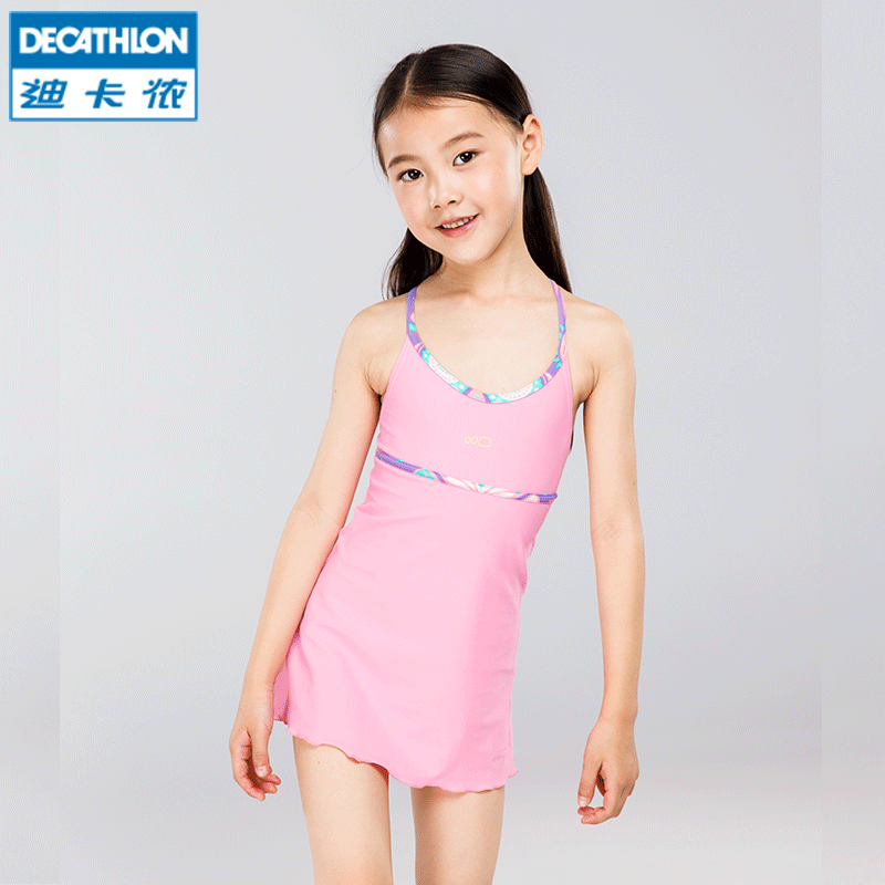3593742159 Decathlon children's swimming hot spring bathing suit girl one-piece  swimsuit lively cute skirt NAB E - BuyChinaFrom.com - Buy China shop at Wholesale  Price ...