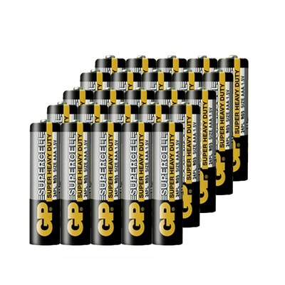 GP超霸碳性干电池5号7号R6P电池AA电池儿童玩具遥控器玩具电子秤