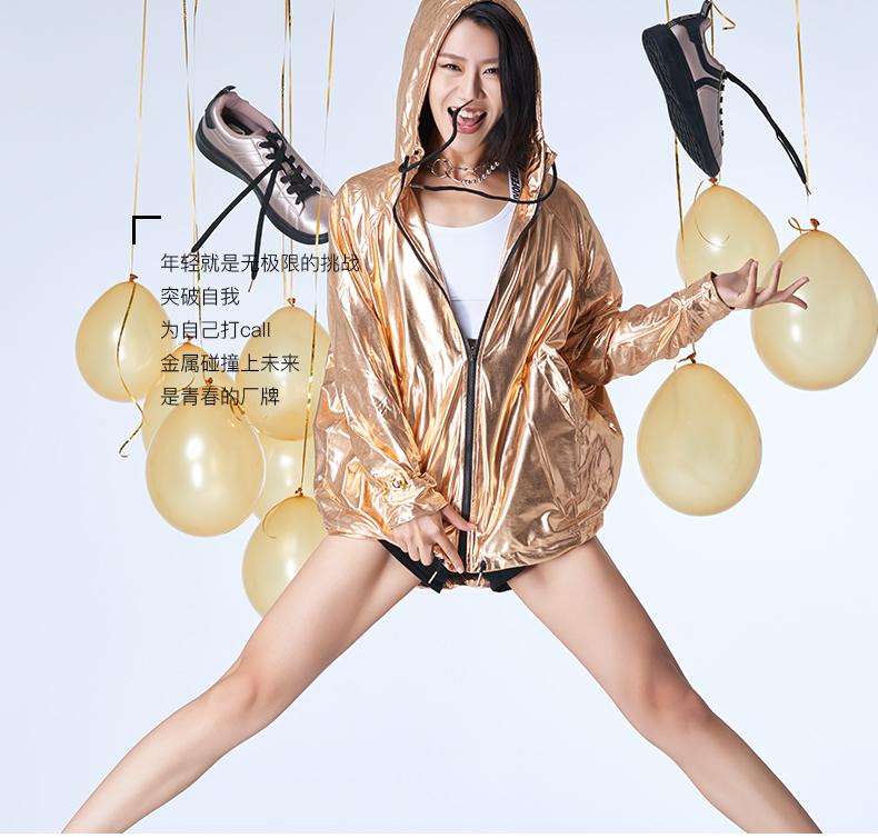 特步 专柜款 女子冬季板鞋 新品潮流时尚π板鞋983418315777-
