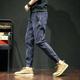 Quần nam mùa xuân và thu đông thương hiệu quần legging quần âu nam cộng với size quần xu hướng Hàn Quốc Quần ôm chân Harem - Quần mỏng
