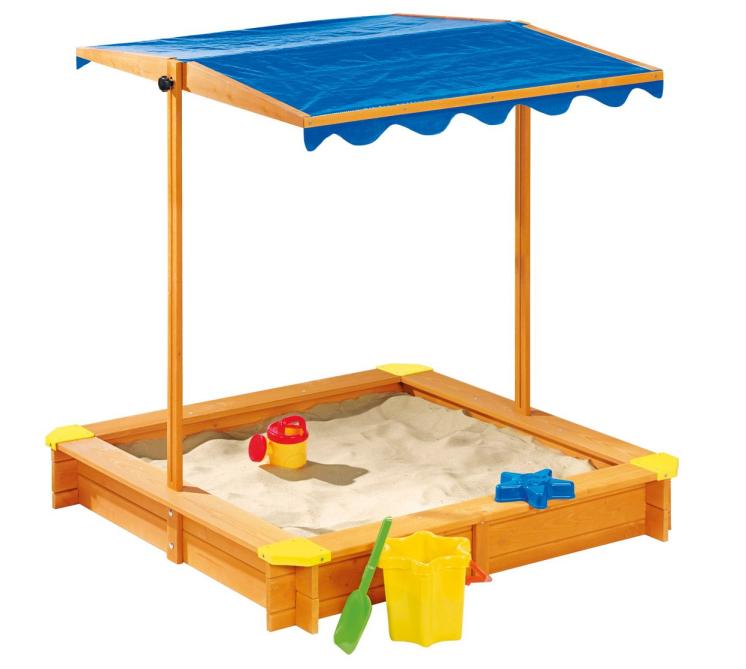 Внешняя торговля европа и америка на открытом воздухе / парк / суд больница деревянный ребенок затенение лифтинг песок бассейн песок яма