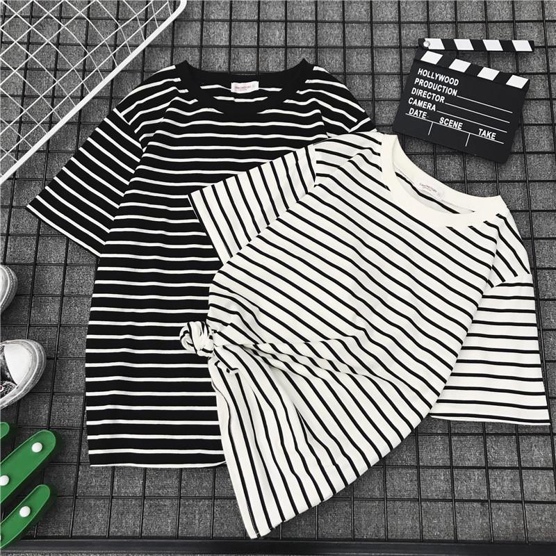 夏季韩版网红上衣T恤超火cec宽松百搭印花ins半袖学生短袖女装潮