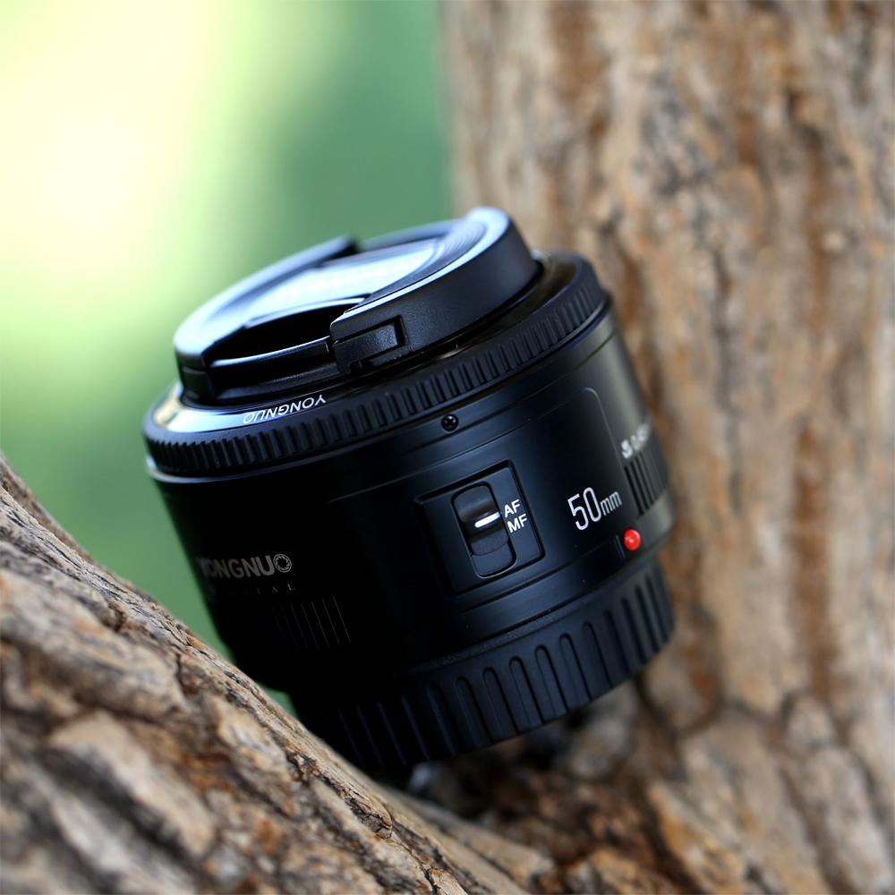 永诺50mm 1.8 50/1.8小痰盂全画幅单反镜头人像定焦镜头