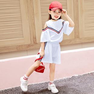 女童套装网红韩版时尚洋气两件套