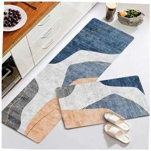 Door of the kitchen floor MATS anti-slip mat oil suction
