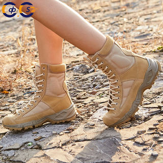 Outdoor breathable air boots high help boots Special army lost boots tactical boots desert mountaineering land boots